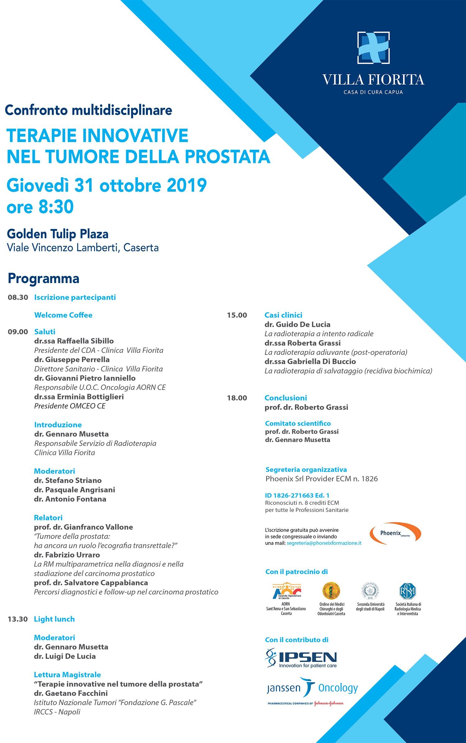 oncologo+per+tumore+alla+prostata+a+caserta+restaurant